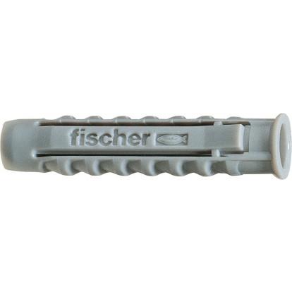 """Cheville nylon """"SX"""" Fischer - Longueur 60 mm - Diamètre 12 mm - Vendu par 6"""