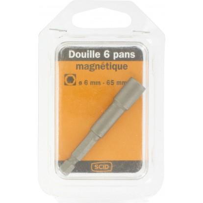 Douille 6 pans magnétique SCID - 6 mm