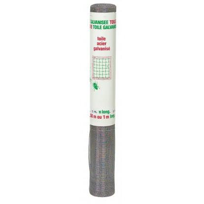 Toile galvanisée n°16 Filiac - Fil diamètre 0,25 mm - Longueur 5 m - Hauteur 0,5 m
