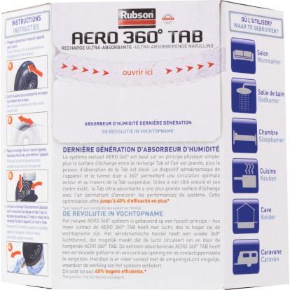 Recharge absorbeur Power Tab Rubson - Vendu par 2