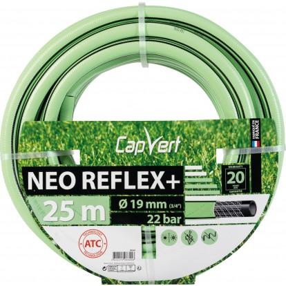 Tuyau d'arrosage Néo Reflex+ Cap Vert - Diamètre 19 mm - Longueur 25 m