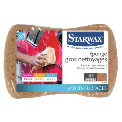 Eponge gros nettoyage Starwax - Vendu par 1