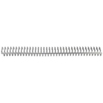 Agrafe flexible à charniere démontable system TEXAS HAI - n°25 - 8 barrettes et 8 jonctions - Vendu par 8