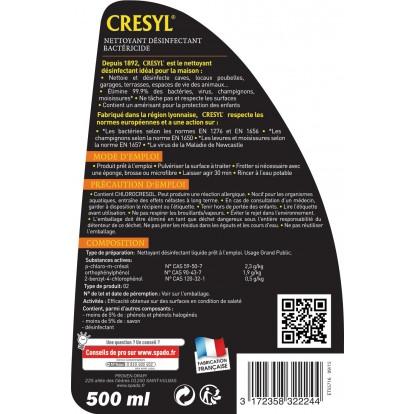 Cresyl prêt a l'emploi Spado - Pulvérisateur 500 ml