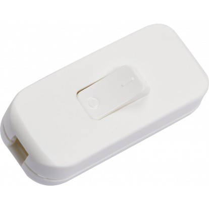 Interrupteur de fil souple 2 A Legrand - Blanc