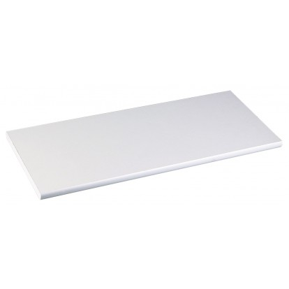 Tablette médium droite Mottez - Longueur 60 - Profondeur 25 cm - Epaisseur 18 mm - Blanc