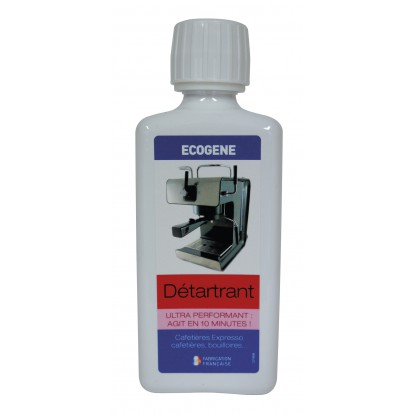Détartrant cafetière, expresso Ecogène - Flacon 250 ml