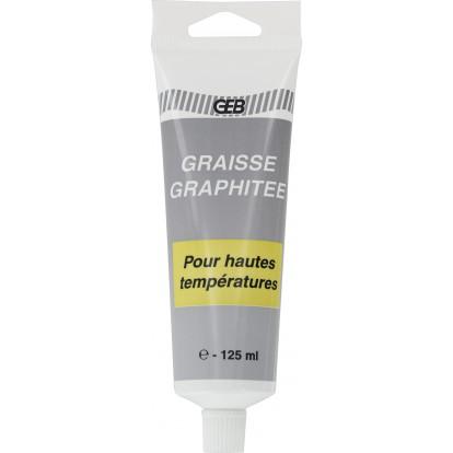 Graisse graphitée pour haute température Geb - Tube 125 ml