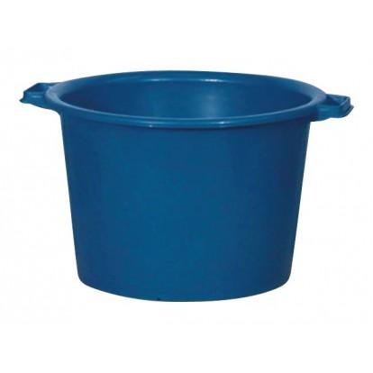 Baquet rond renforcé - 40 l - Bleu