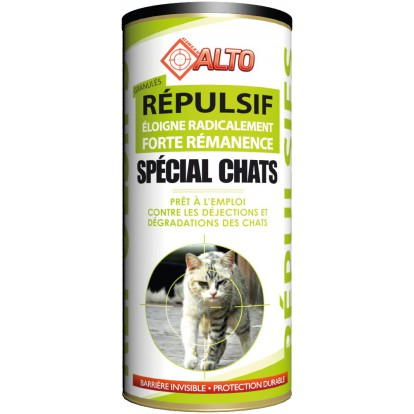 Répulsif granulés spécial chats