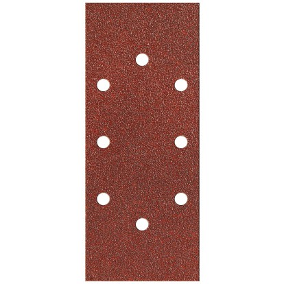 Patin auto-agrippant SCID - 8 trous ovales - Grain 40, 80, 120 - Dimensions 90 x 187 mm - Vendu par 10