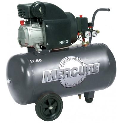 Compresseur 50 l Mercure Mecafer - 2 HP
