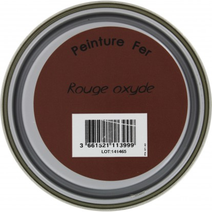 Peinture fer Addict - 0,5 l - Rouge oxyde