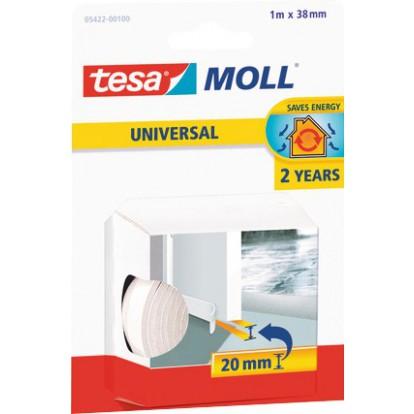 Mousse bas de porte Tesa - 1 m - Blanc