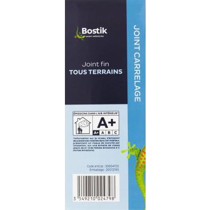 Joint fin poudre Bostik - Gris - Boîte 1 kg