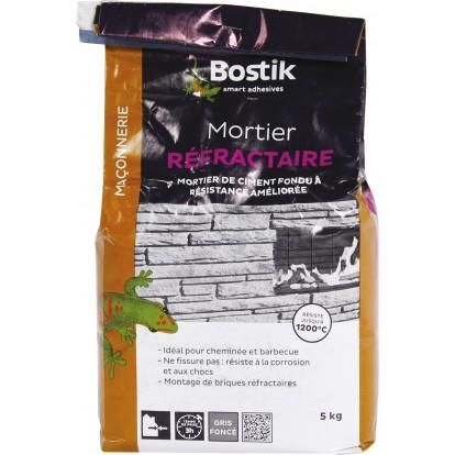 Mortier réfractaire Bostik - Sac 5 kg
