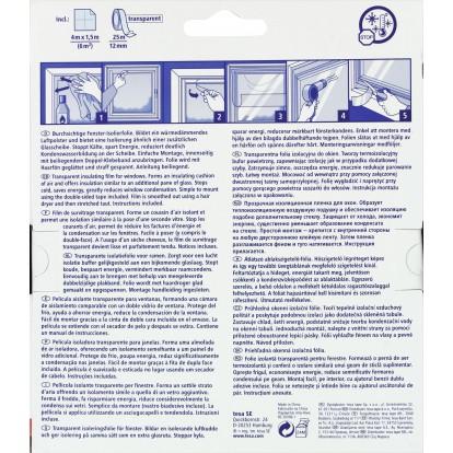 Film de survitrage thermo cover tesa longueur 4 m largeur 1 5 m de film d - Efficacite film survitrage ...