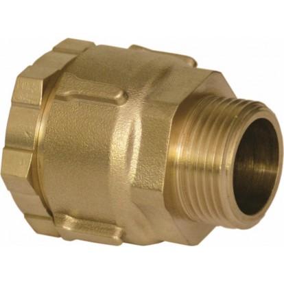 Raccord PE droit à serrage - M 1''1/4 - Ø 40 mm - Rexuo - Huot