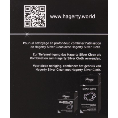 Bain argent Silver clean Hagerty - Pot 170 ml