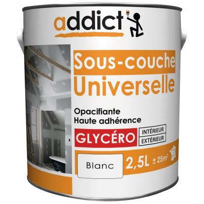 Peinture Sous-Couche Universelle Addict - Boîte 2,5 L - Blanc De