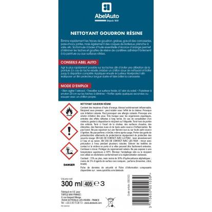 Nettoyant goudron-résine Abel Auto - Aérosol 300 ml