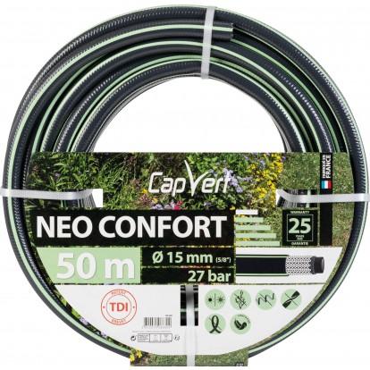 Tuyau d'arrosage Néo Confort Cap Vert - Diamètre 15 mm - Longueur 50 m
