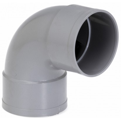 Coude à 87°30 Femelle / Femelle Girpi - Diamètre 63 mm