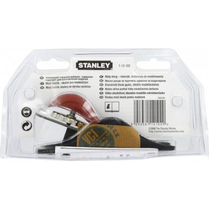 Rabot 102 Stanley - Longueur 140 mm - Fer 35 mm