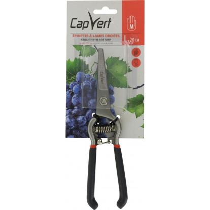 Épinette traditionnelle tout forgé avec lames droites en acier trempé Cap Vert - Longueur 20 cm