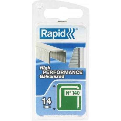Agrafe n°140 Rapid Agraf - Hauteur 14 mm - 650 agrafes