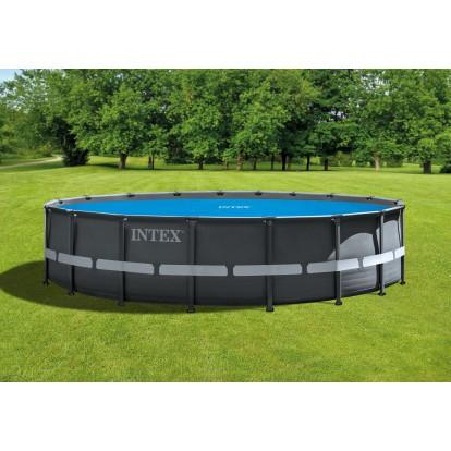 Bâche à bulles Intex - Pour piscine ronde de 5,49 m de diamètre