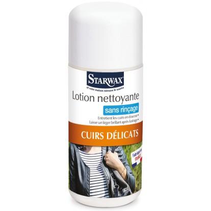 Lotion nettoyante cuir Starwax - Flacon 200 ml