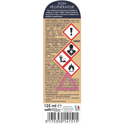 Soin régénérateur Spado - Flacon 125 ml - Bois clair