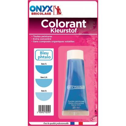 Colorant universel 25 ml Onyx - Bleu phtalo