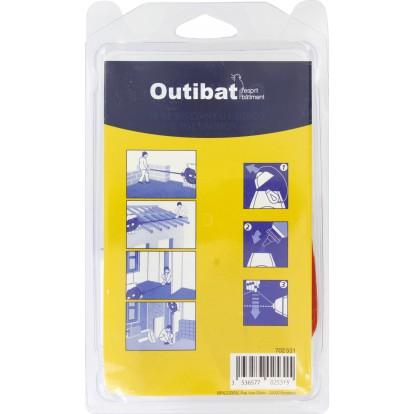 Lot traceur cordeau plastique et poudre bleu Outibat - 100 g
