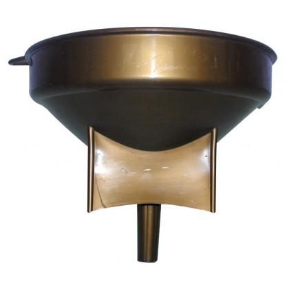 Entonnoir de cave Eda - Plastique bronze - Diamètre 37 cm