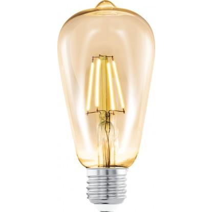 Ampoule vintage ST64 LED filament E27 Eglo - 220 Lumens - 4 W