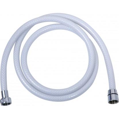 Flexible tressé blanc - renforcé - 2 m