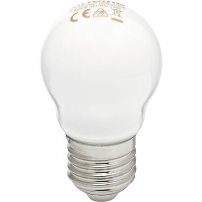 Ampoule LED sphérique à filament E27 dhome - 470 Lumens - 4,5 W - 2700 K