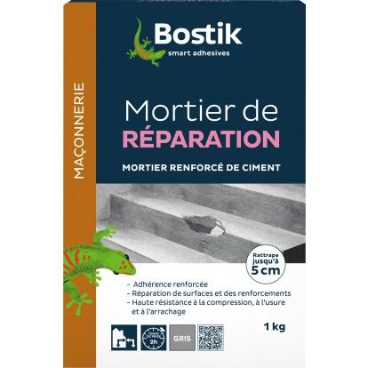 Mortier de réparation Bostik - Boîte carton 1 kg