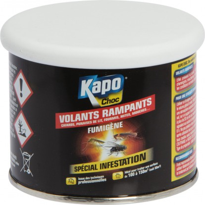 Fumigène Kapo Choc - De 100 à 150 m³