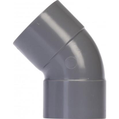 Coude à 45° Femelle / Femelle Girpi - Diamètre 40 mm