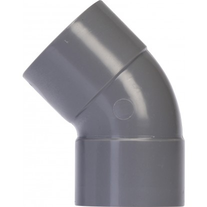 Coude à 45° Femelle / Femelle Girpi - Diamètre 80 mm