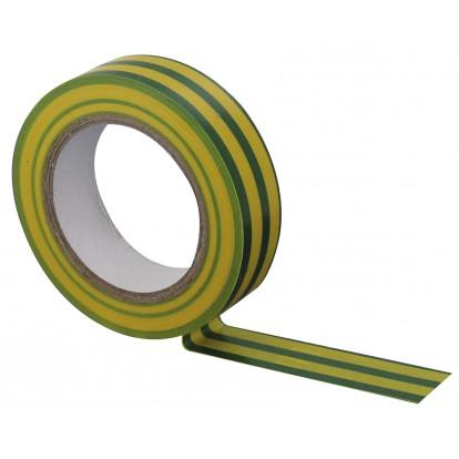 Ruban adhésif isolant Dhome - Vert / jaune