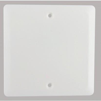 Couvercle pour boîte Batibox Legrand - Boîte maçonnerie - Dimensions 80 x 80 mm