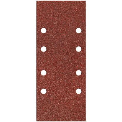 Patin fixation avec pince SCID - 8 trous parallèles - Grain 40, 80, 120 - Dimensions 93 x 230 mm - Vendu par 10
