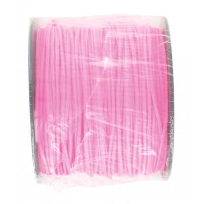 Bobine de tresse polypro rose fluo Outibat - Longueur 100 m - Diamètre 2,5 mm