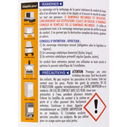 Ramoneur Starwax - Boîte 1 kg