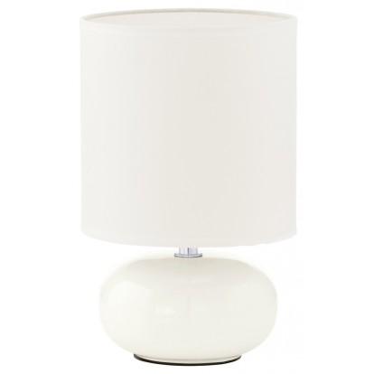 Lampe Trondio Eglo - Blanc - Hauteur 260 mm - Diamètre 150 mm - Pour ampoule E14 40W