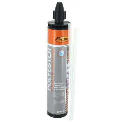 Scellement chimique polyester Fix'Pro - 300 ml - Ton pierre